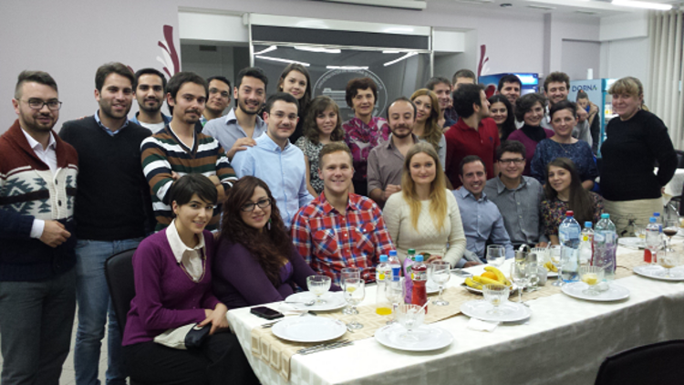 ERASMUS welcome dinner for Incoming Students